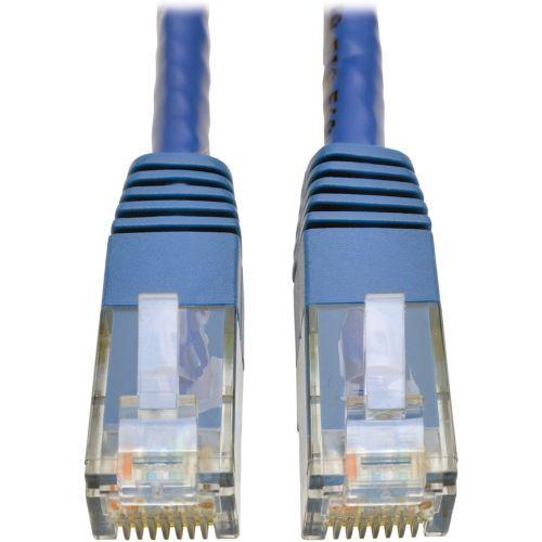 Cat6 Gigabit Molded Patch Cable RJ45 M/M 550MHz 24 AWG Blue 5 - Patch cable - RJ-45 (M) to RJ-45 (M) - 5 ft - UTP - CAT 6 - IEEE 802.3ab - molded stranded - blue - for P/N: NG16 NG16POE NG24 NG5 NG5P NG5POE NG8 NG8P NG8POE NGS8C2 NGS8C2POE NSU