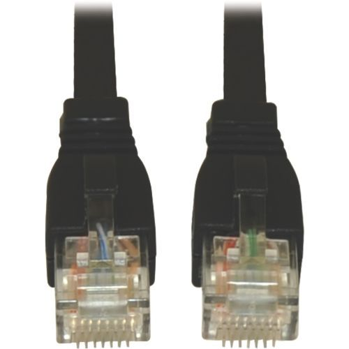 3ft Augmented Cat6 Cat6a Snagless 10G Patch Cable RJ45 M/M Black 3 - Patch cable (DTE) - RJ-45 (M) to RJ-45 (M) - 3 ft - UTP - CAT 6a - IEEE 802.3af - snagless stranded - black