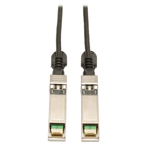 Lite SFP+ 10Gbase-CU Passive Twinax Copper Cable Black 7M (23-ft.) - SFP+ for Network Device - 22.97 ft - 1 x SFF-8431 Male SFP+ - 1 x SFF-8431 Male SFP+ - Black