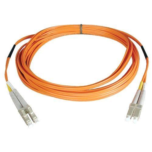 Lite Duplex Multimode 62.5/125 Fiber Patch Cable - (LC/LC)  0.3M (1-ft.)