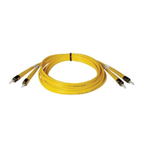 15M Duplex Singlemode 8.3/125 Fiber Optic Patch Cable ST/ST 50 feet 50ft 15 Meter - Patch cable - ST single-mode (M) to ST single-mode (M) - 49 ft - fiber optic - 8.3 / 125 micron - yellow