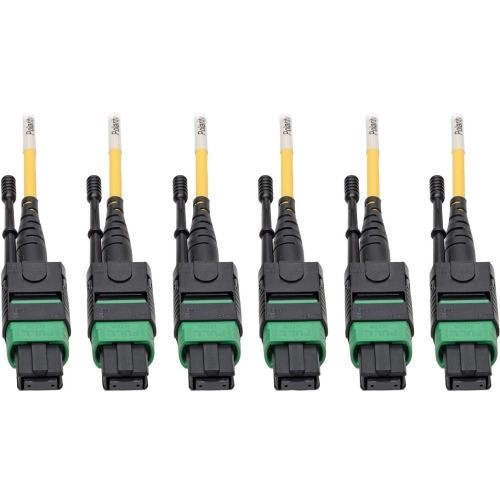 MTP/MPO (APC) SINGLEMODE SLIM TRUNK CABLE 24-STRAND 40/100 GBE 40/100GBASE-PL