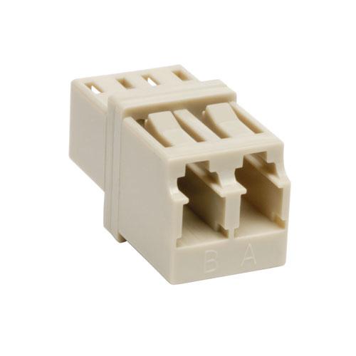 Lite Duplex Multimode Fiber Optic Coupler LC/LC - 2 x LC Female Network - 2 x LC Female Network
