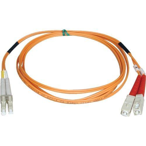 Lite Duplex Multimode 50/125 Fiber Patch Cable - (LC/SC)  15M (50-ft.)