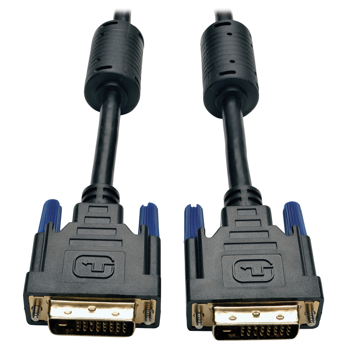 DVI Dual Link Cable Digital TMDS Monitor Cable (DVI-D M/M)  30-ft - DVI for Video Device TV Projector Monitor - 30 ft - 1 x DVI-D (Dual-Link) Male Digital Video - 1 x DVI-D (Dual-Link) Male Digital Video - Gold-plated Contacts - Shielding - Black