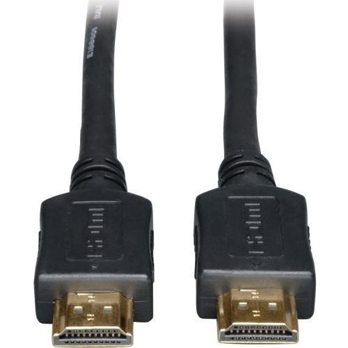 High Speed HDMI Cable Ultra HD 4K x 2K Digital Video with Audio (M/M) Black 20ft - HDMI for Audio/Video Device TV Plasma LCD TV Projector Blu-ray Player A/V Receiver iPad - 20 ft - 1 x HDMI Male Digital Audio/Video - 1 x HDMI Male Digital Audio/Video - Go