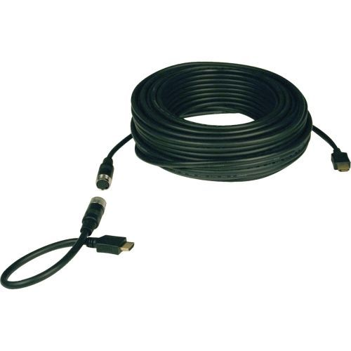50ft Standard Speed HDMI Cable Digital Video with Audio Easy Pull 1080p M/M 50 - HDMI cable - HDMI (M) to HDMI (M) - 50 ft - double shielded - black