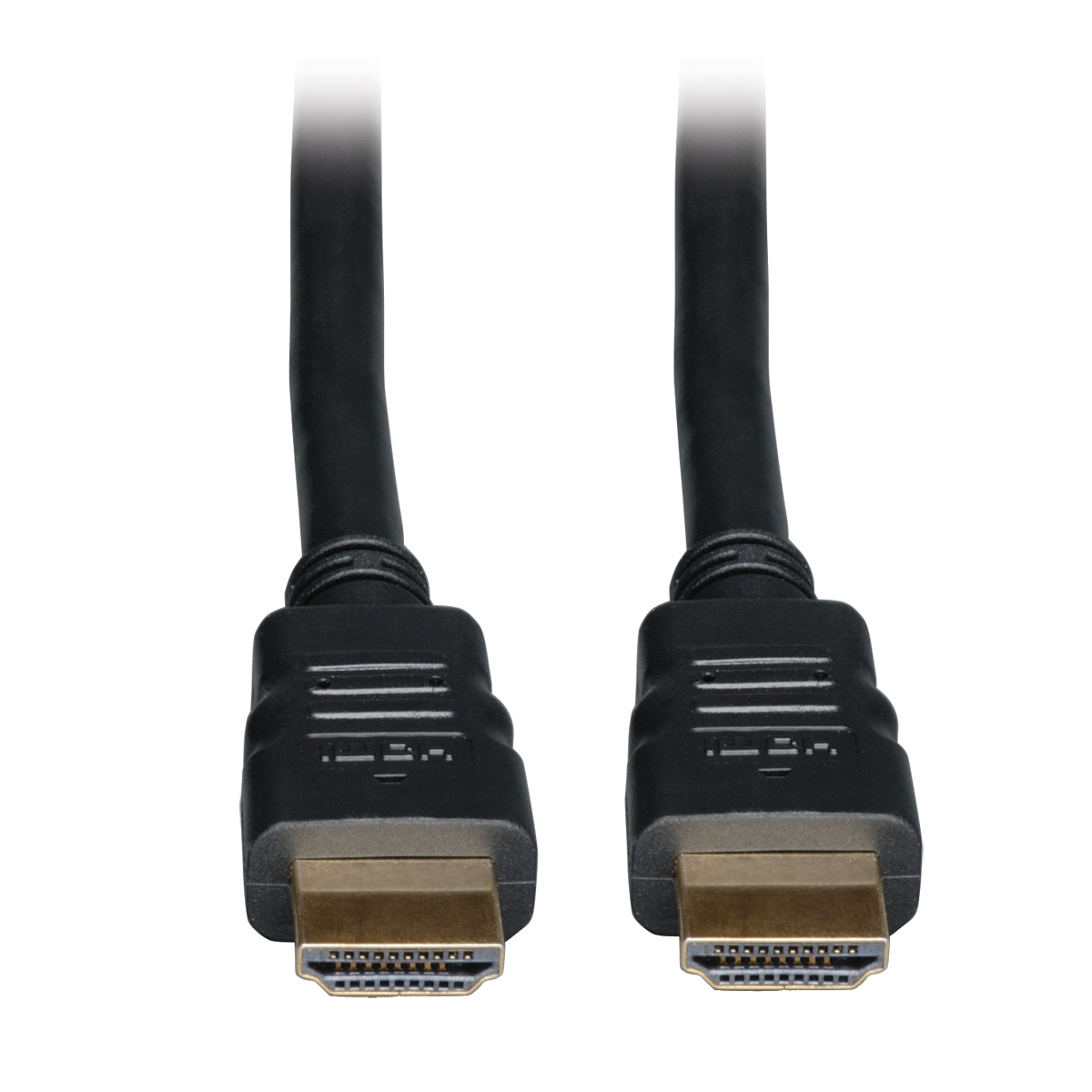 Lite High Speed HDMI Cable with Ethernet Digital Video with Audio (M/M) 3-ft - HDMI - 3 ft - 1 x HDMI Male Digital Audio/Video - 1 x HDMI Male Digital Audio/Video - Black