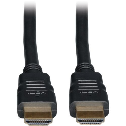 High Speed HDMI Cable with Ethernet Ultra HD 4K x 2K Digital Video with Audio (M/M) 20ft - HDMI for Audio/Video Device TV Monitor iPad - 20 ft - 1 x HDMI Male Digital Audio/Video - 1 x HDMI Male Digital Audio/Video - Shielding - Black