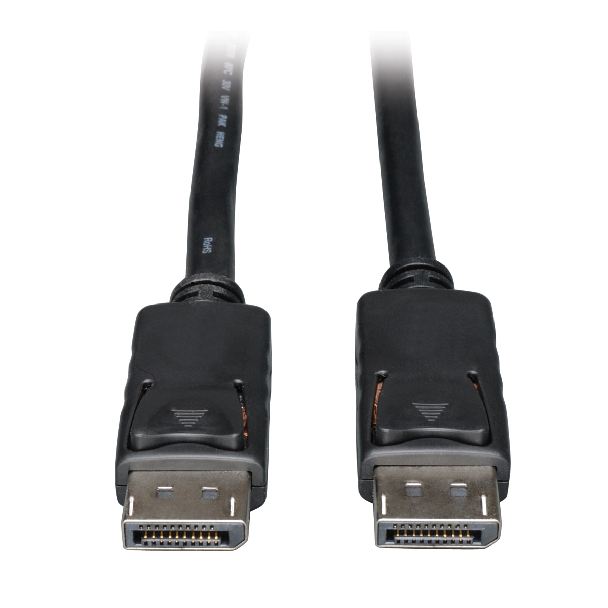 15FT DISPLAYPORT CABLE WITH LATCHES VIDEO / AUDIO DP 4K X 2K M/M 15FT