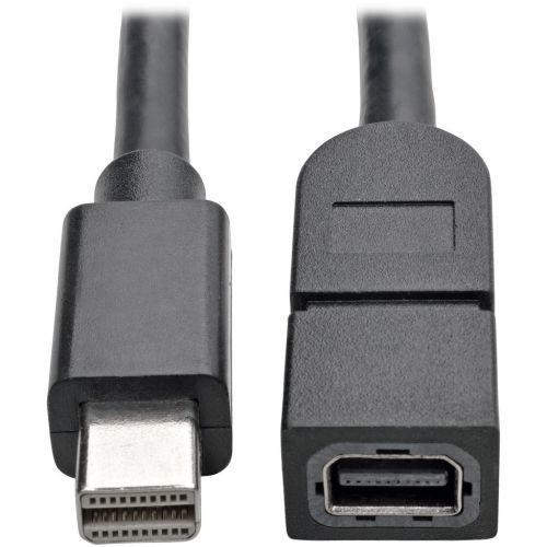 MINI DISPLAYPORT EXTENSION CABLE 4K X 2K (3840 X 2160) 60 HZ (M/F)  3 FT.