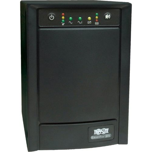 UPS Smart 750VA 500W Tower AVR 100/110/120V Pure Sign Wave USB DB9 SNMP RJ45 - UPS - AC 120 V - 500 Watt - 750 VA - output connectors: 8 - black