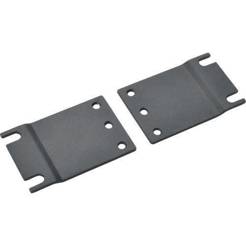 Rack Enclosure Server Cabinet Mounting Adapter Kit 23 Inch Racks - Rack mounting ears - black - 19 inch /23 inch