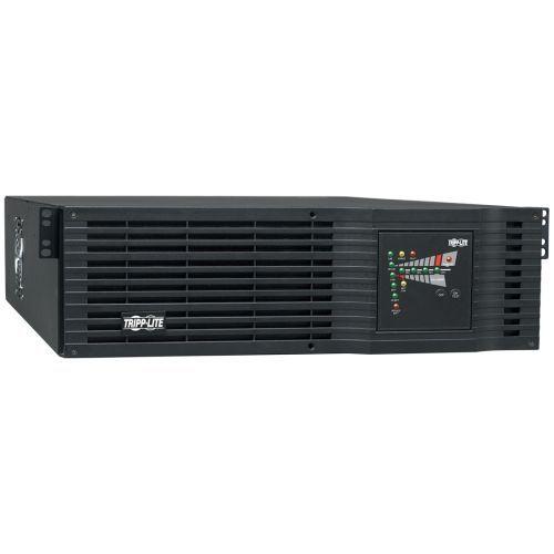 UPS Smart Online 3000VA 2400W Rackmount 110V / 120V USB DB9 Oversize Batteries 3URM - UPS - AC 120 V - 2.4 kW - 3000 VA - output connectors: 9 - 3U