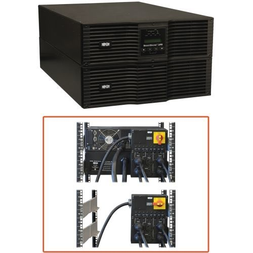 Lite SmartOnline SU8000RT3U1TF 8kVA Tower/Rack-mountable UPS - 6 Minute Full Load - 8kVA - SNMP Manageable