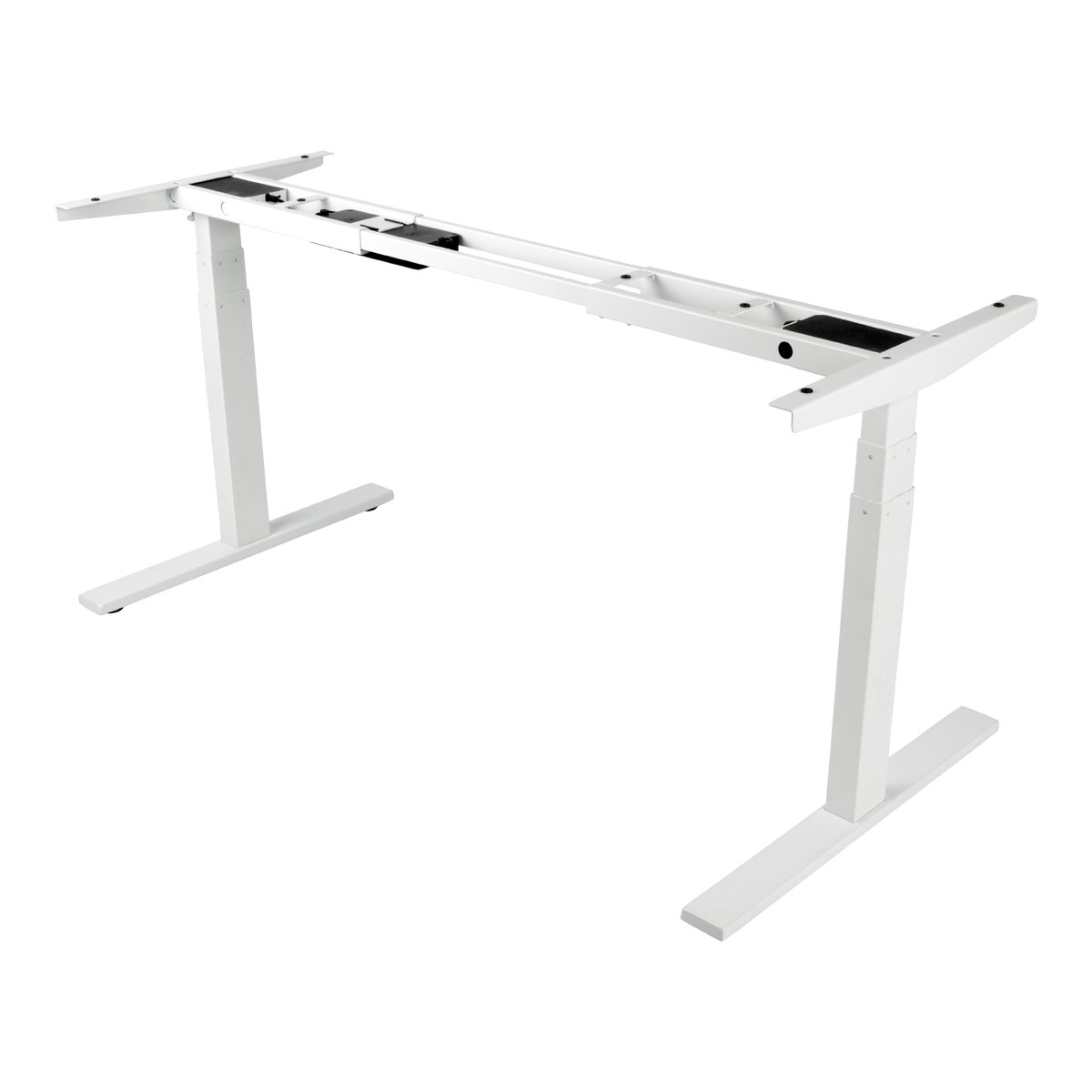 WORKWISE STANDING DESK BASE ELECTRIC ADJUSTABLE-HEIGHT WHITE.FOR HEIGHT ADJUST
