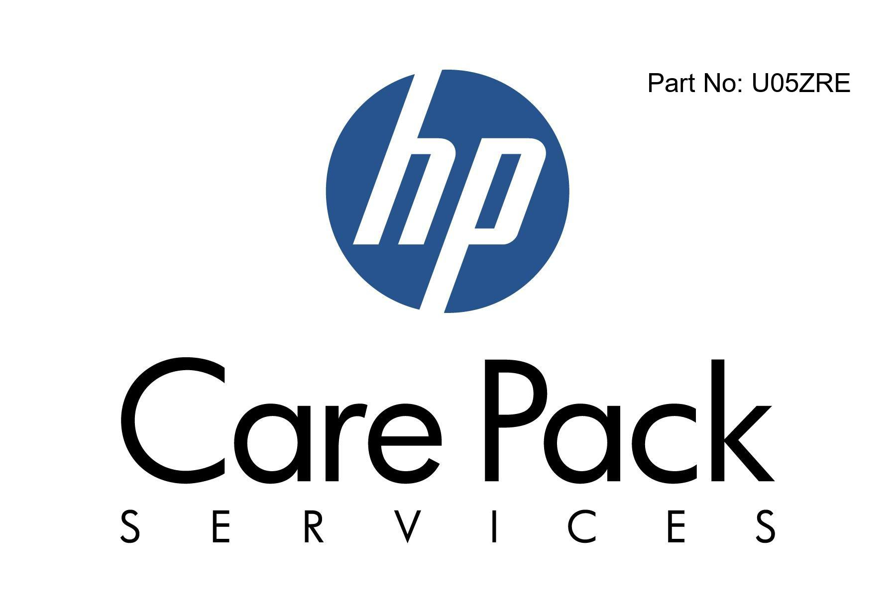 Electronic HP Care Pack Next Business Day Hardware Support with Defective Media Retention - Extended service agreement - parts and labor - 1 year - on-site - 9x5 - response time: NBD