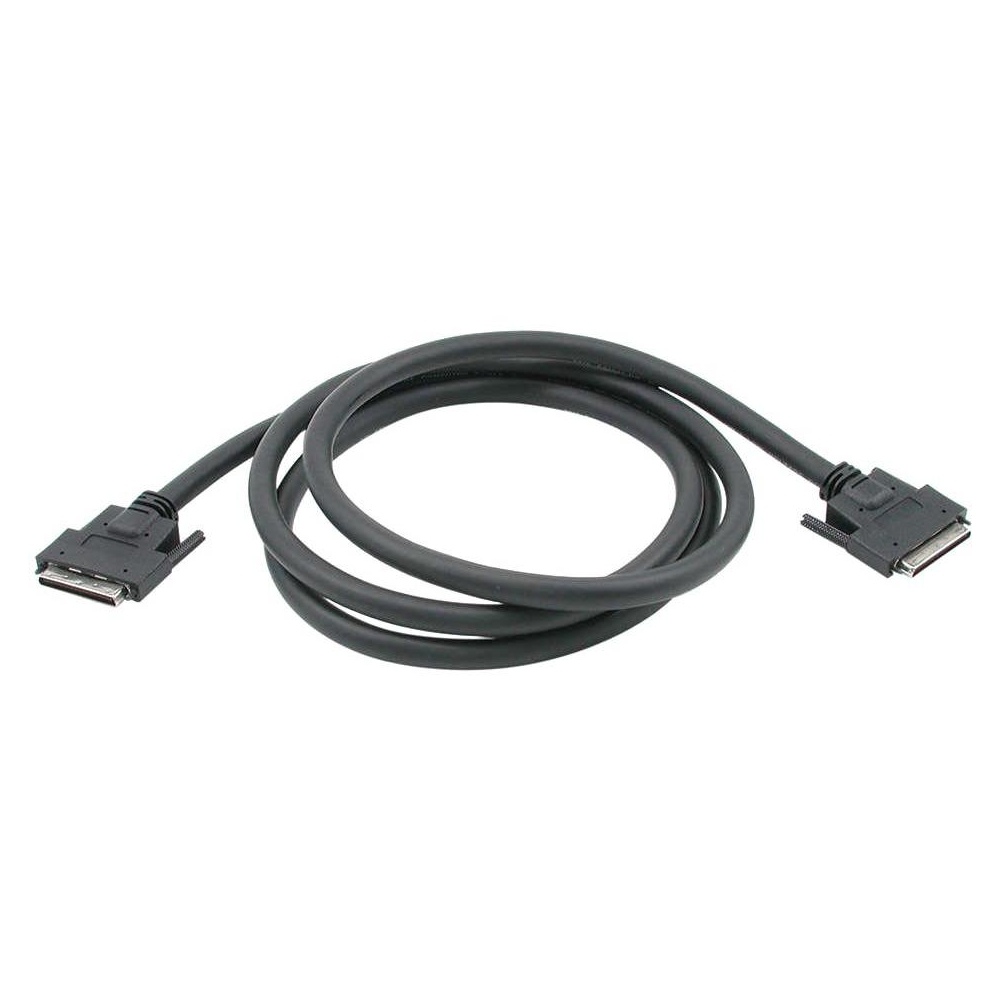 SCSI external cable - LVD/SE - 68 pin VHDCI (M) to 68 pin VHDCI (M) - 6 ft - black