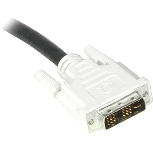 5m DVI-I M/M Single Link Digital/Analog Video Cable (16.4ft) - DVI-I Male - DVI-I Male - 16.4ft - Black