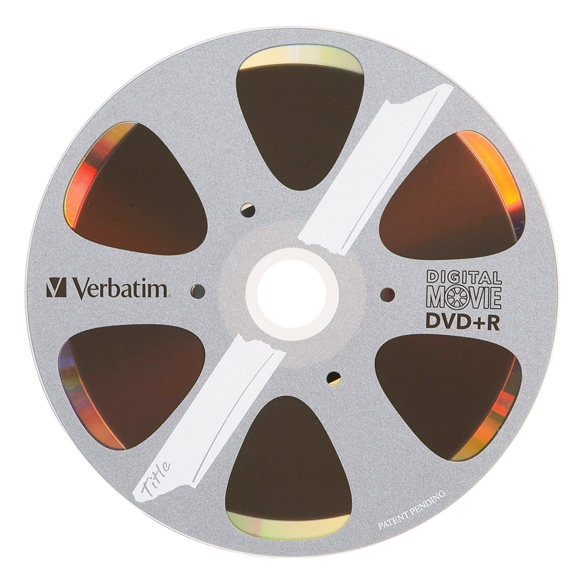 DVD+R 4.7GB 8X with DigitalMovie Surface - 10pk Box - 120mm - 2 Hour Maximum Recording Time