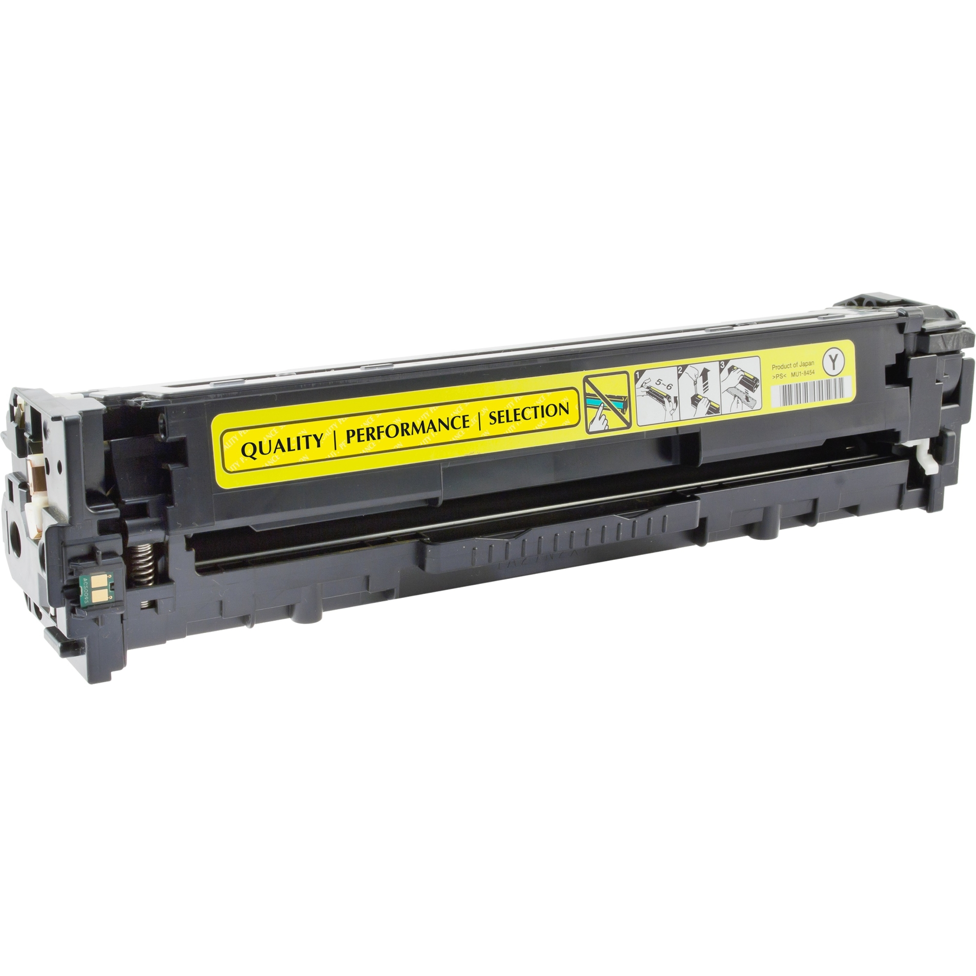 Toner Cartridge - Replacement for HP (CE322A) - Yellow - Laser - 1300 Page