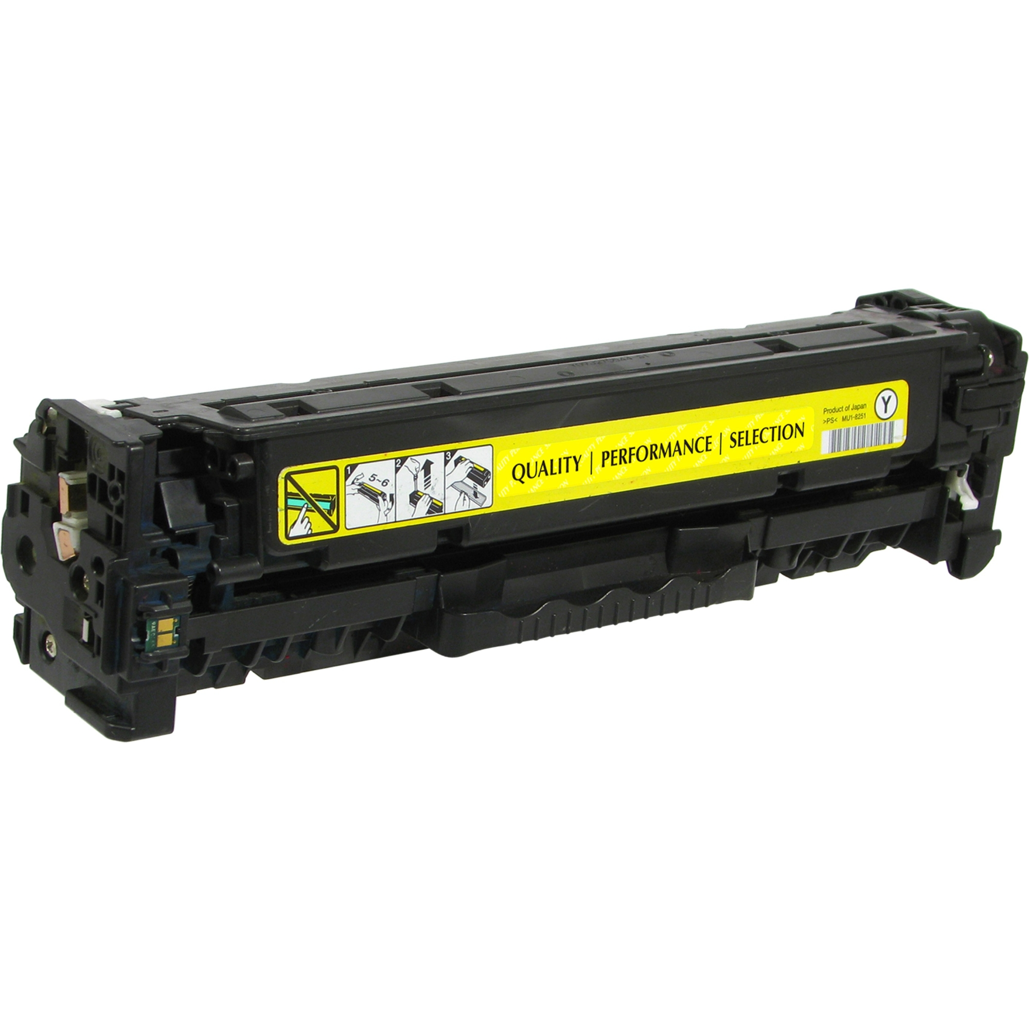 Toner Cartridge - Replacement for HP (CE412A) - Yellow - Laser - 2600 Page