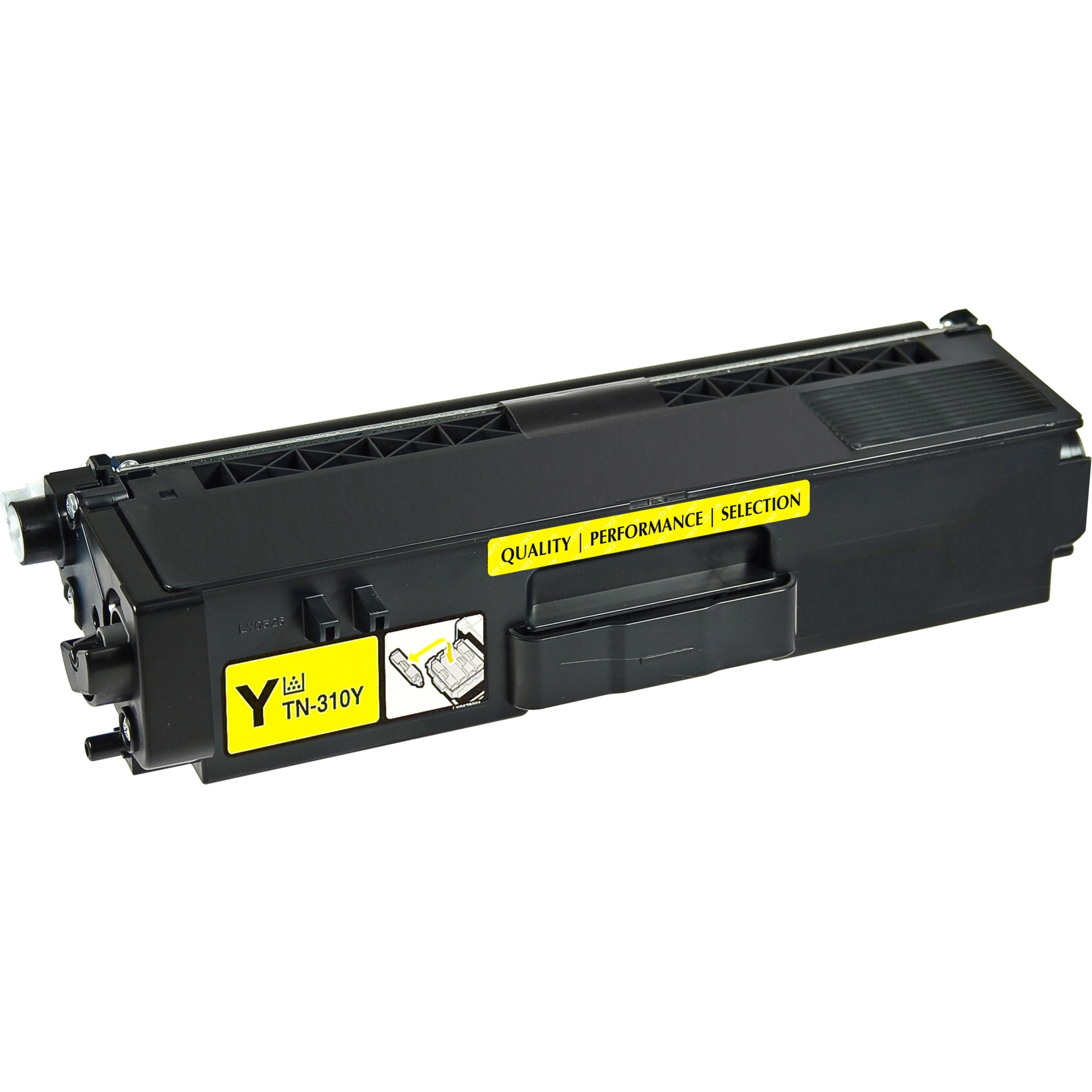Toner Cartridge - Replacement for Brother (TN315Y) - Yellow - Laser - High Yield - 3500 Page