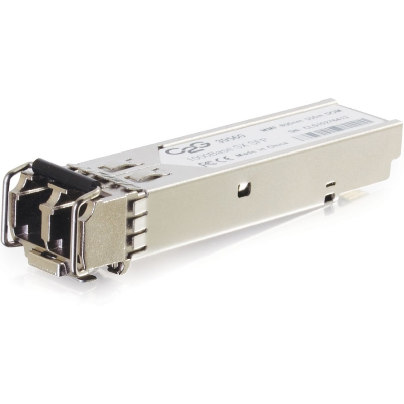 HP JD118B Compatible 1000Base-SX MMF SFP (mini-GBIC) Transceiver Module - SFP (mini-GBIC) transceiver module ( equivalent to: HP JD118B ) - Gigabit Ethernet Fibre Channel - 1000Base-SX - LC multi-mode - up to 1800 ft - 850 nm - for HPE 1910 3100 36XX