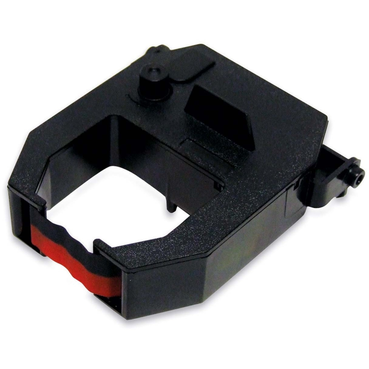 Replacement Ribbon for 2600 & 2650 Time Clocks - Black Red - Dot Matrix - 1 Each