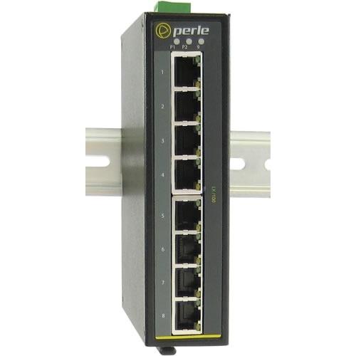 IDS-108F-S1SC40U - Industrial Ethernet Switch - 9 Ports - 8 x RJ-45 - 1 x SC - 10/100Base-TX 100Base-BX-U - Rail-mountable Panel-mountable Wall Mountable