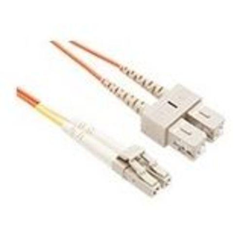 FIBER OPTIC PATCH CABLE LC-SC 62.5 125 MULTIMODE DUPLEX ORANGE 35M