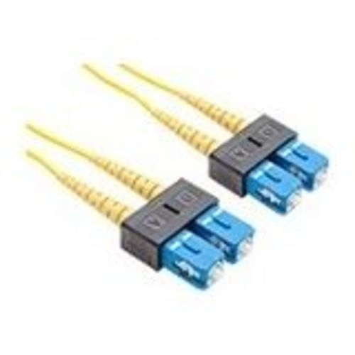 FIBER OPTIC PATCH CABLE SC-SC 9 125 SINGLEMODE DUPLEX YELLOW 70M