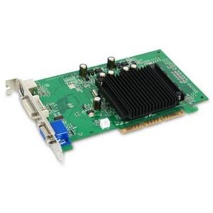 GeForce 6200 Graphics Card - nVIDIA GeForce 6200 300MHz - 512MB GDDR2 SDRAM 64bit - AGP 8x - DVI-I HD-15 - Retail