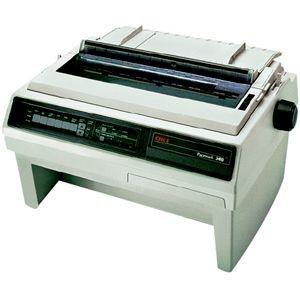 Oki Pacemark 3410 Dot Matrix Printer - 9-pin - 550 cps Mono - 240 x 216 dpi - Parallel Serial