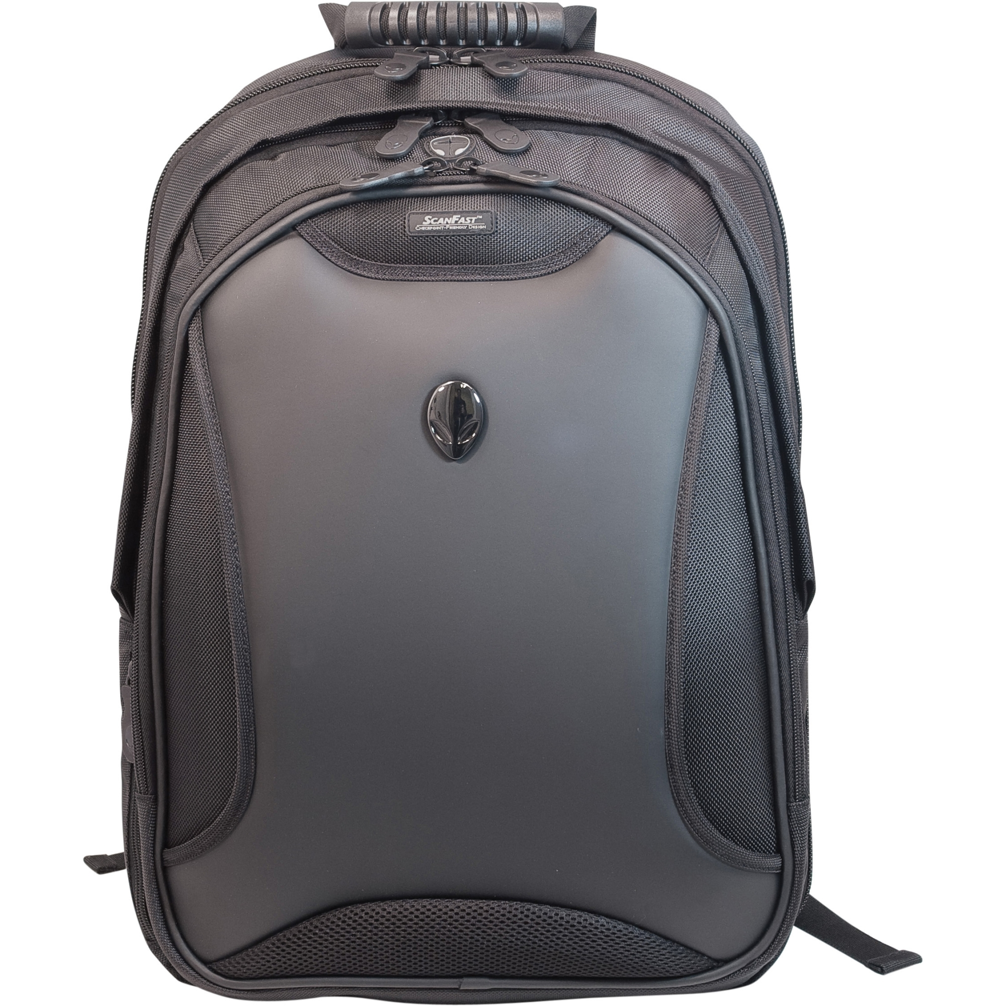 Edge Alienware Orion Backpack (ScanFast) - Backpack - 17.3 inch Screen Support - 20 inch x 15.5 inch x 8 inch - Nylon - Black