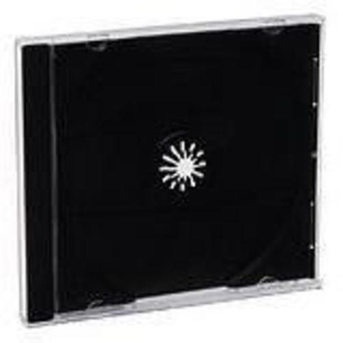 Storage CD jewel case - black (pack of 200 ) - for P/N: 43754 97281 97283 97284 97334 97335 97338 97339 97344 97457 97503 97672