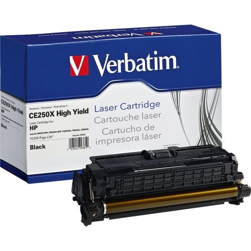 High Yield - black - - toner cartridge (alternative for: HP CE250X) - for HP Color LaserJet CM3530 CM3530fs CP3525 CP3525dn CP3525n CP3525x CP3527 CP3529