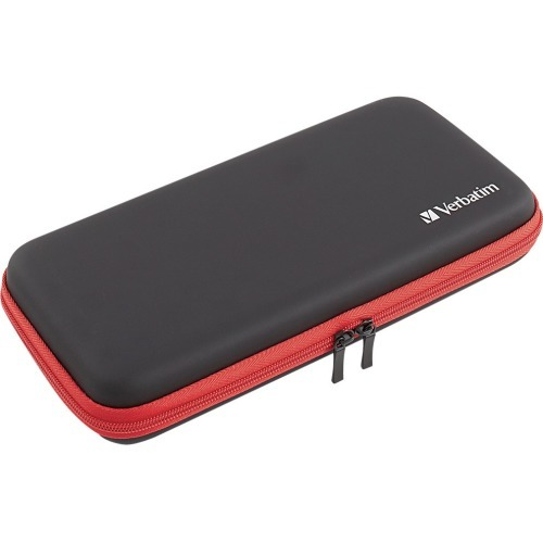 CARRYING CASE FOR USE WITH NINTENDO SWITCH BLACK/RED