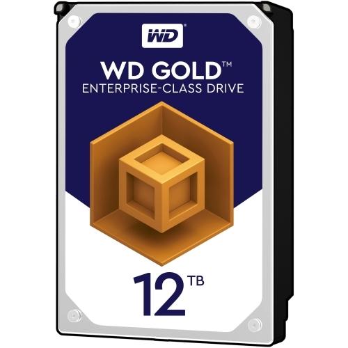 WD TDSourcing Gold Enterprise-Class Hard Drive - Hard drive - 12 TB - internal - 3.5 inch - SATA 6Gb/s - 7200 rpm - buffer: 256 MB
