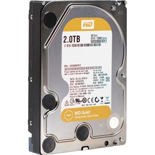 WD TDSourcing Gold Datacenter Hard Drive - Hard drive - 2 TB - internal - 3.5 inch - SATA 6Gb/s - 7200 rpm - buffer: 128 MB