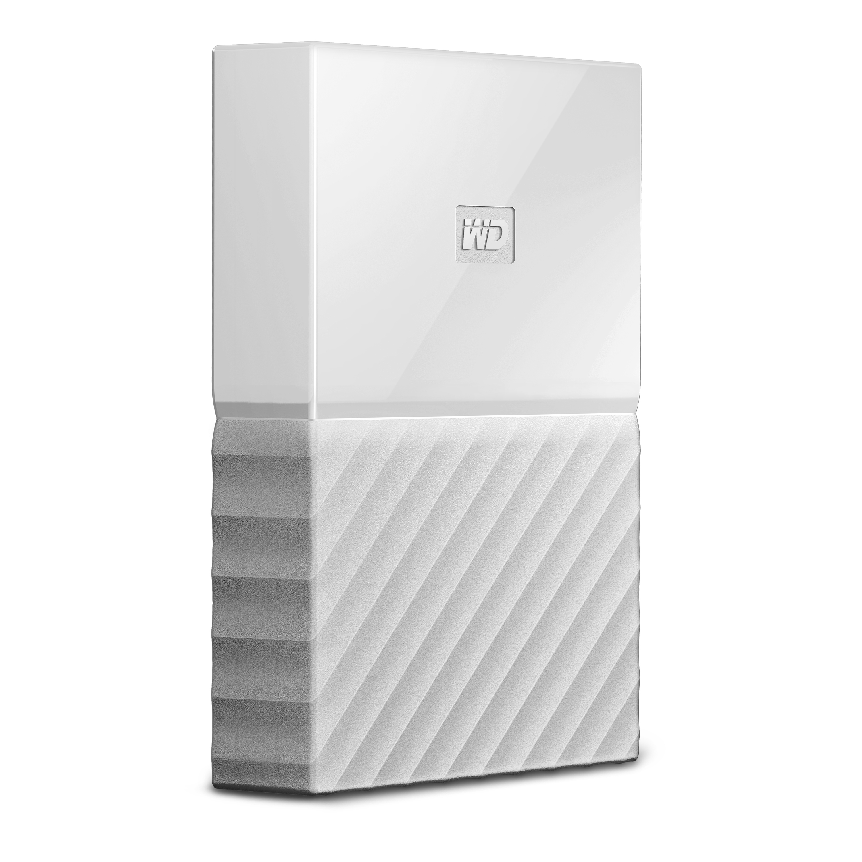 WD 4TB MY PASSPORT PORTABLE WHITE