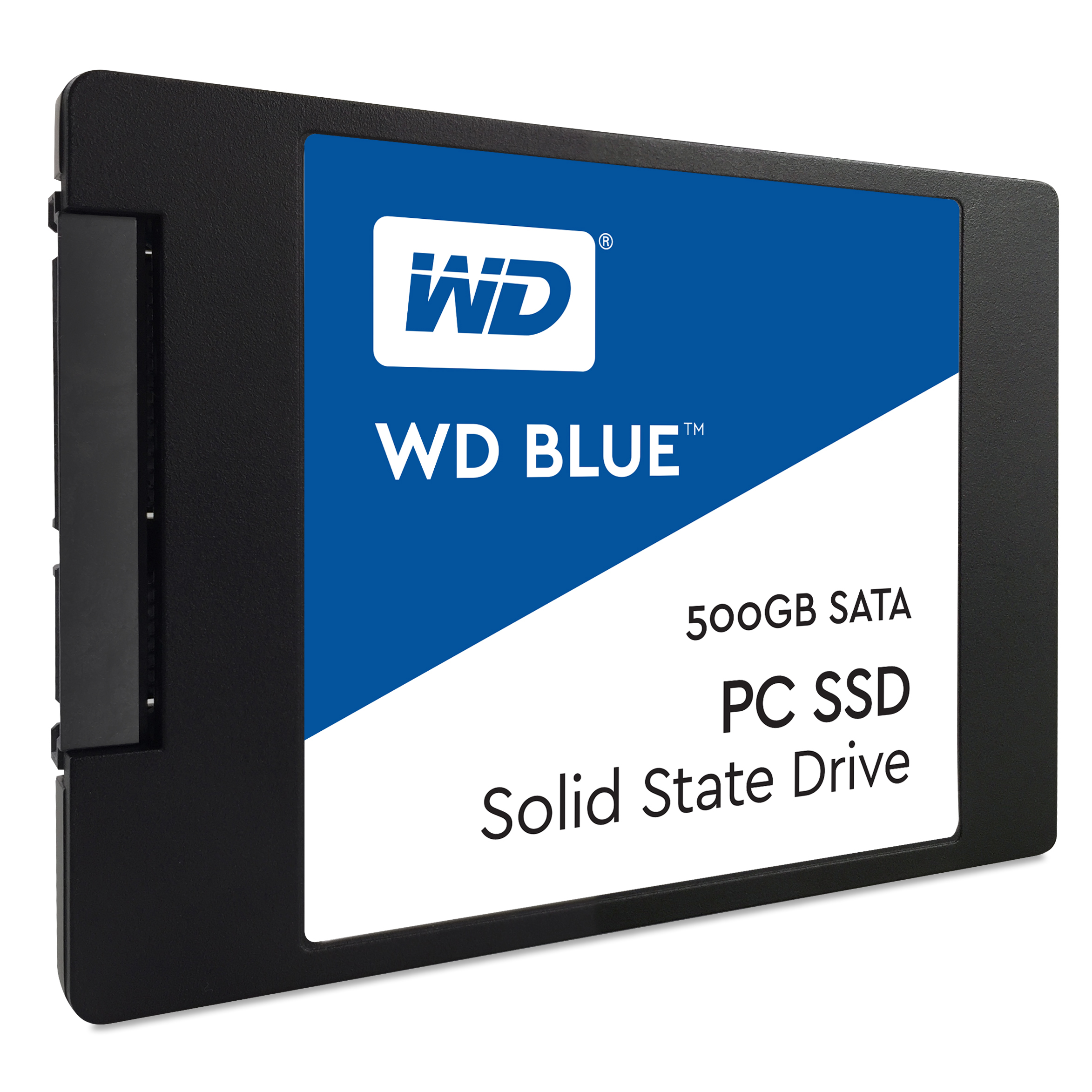 WD Blue PC SSD - Solid state drive - 500 GB - internal - 2.5 inch - SATA 6Gb/s