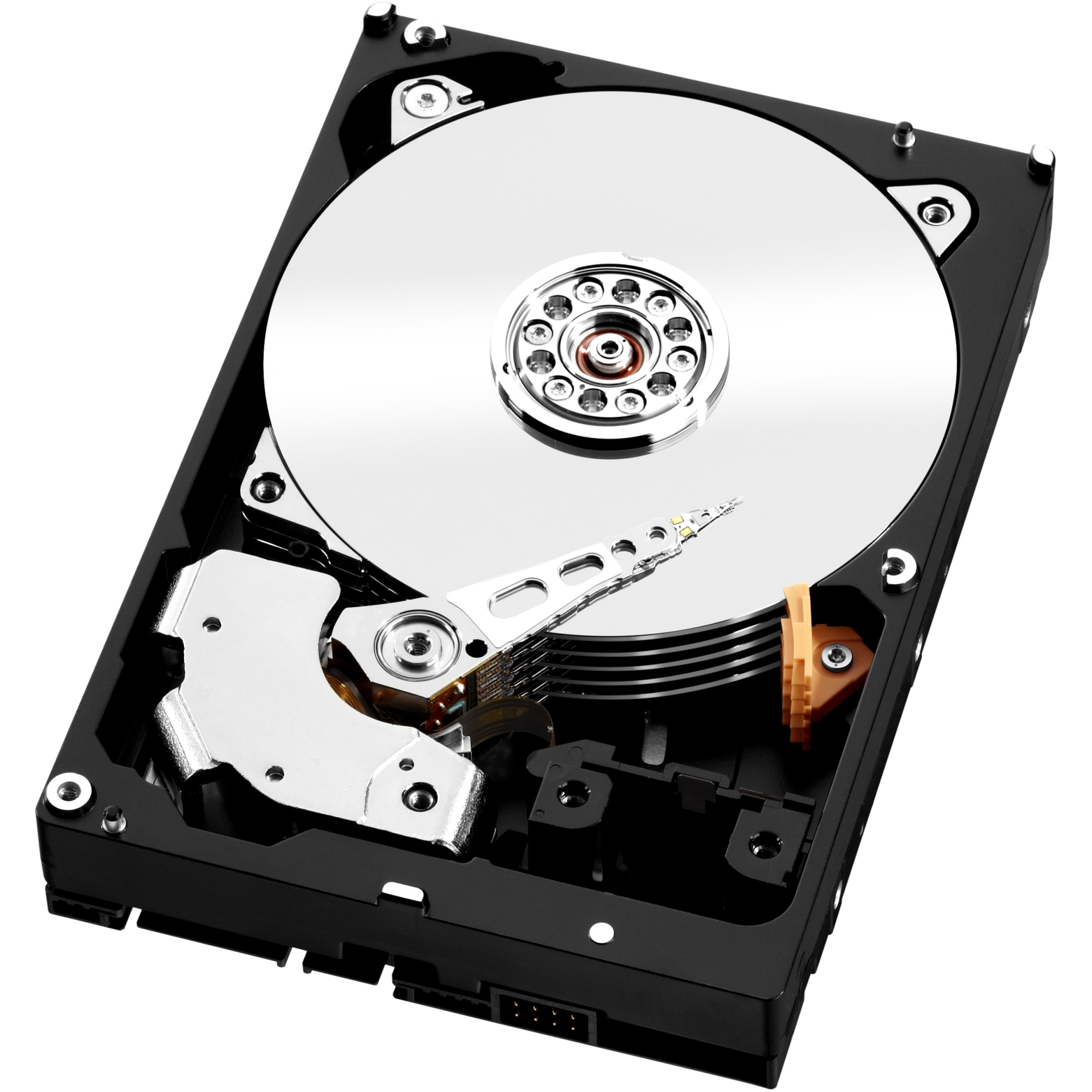 WD TDSourcing Red Pro NAS Hard Drive - Hard drive - 3 TB - internal - 3.5 inch - SATA 6Gb/s - 7200 rpm - buffer: 64 MB - for WD My Cloud EX4
