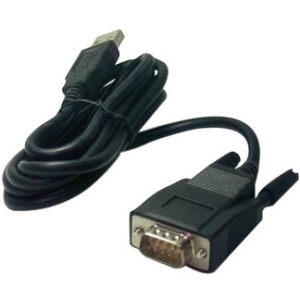 USB to Serial Port Adapter - USB/Serial for PC Desktop Computer - 3.94 ft - 1 x Type A Male USB - 1 x DB-9 Female Serial - Black