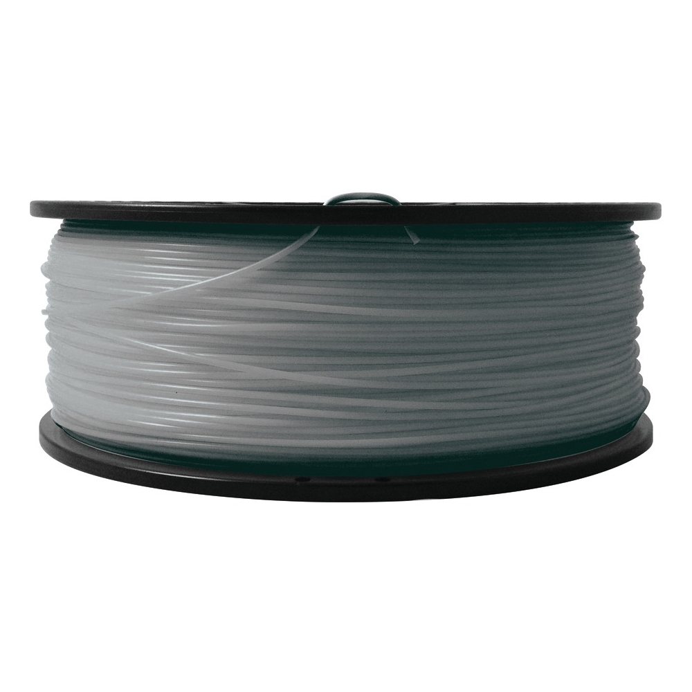 Silver - 2.2 lbs - ABS filament (3D) - for bq Witbox MakerBot Replicator 2
