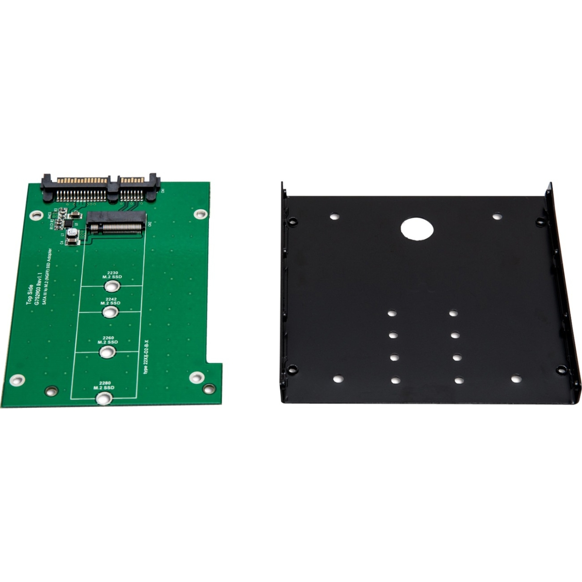 Multimedia 3.5 inch SATA to M.2 SSD Adapter