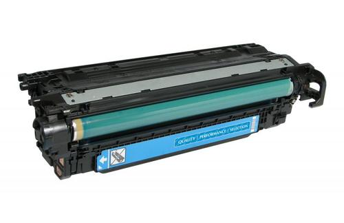 HP Colour LaserJet CM3530 MFP - Extended Yield - cyan - toner cartridge (alternative for: HP CE251A) - for HP Color LaserJet CM3530 MFP CM3530fs MFP CP3525 CP3525dn CP3525n CP3525x