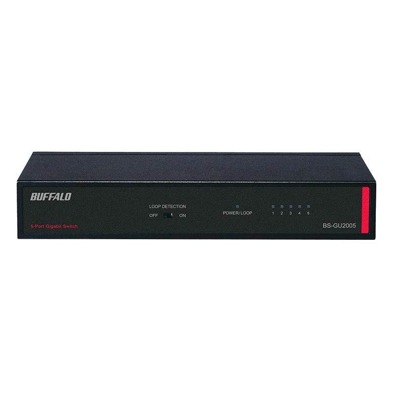 Gigabit Unmanaged Ethernet Switch - 5 Ports - 5 x RJ-45 - 10/100/1000Base-T - Desktop