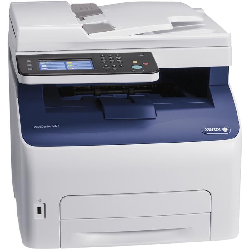 WorkCentre LED Multifunction Printer - Color - Plain Paper Print - Desktop - Copier/Fax/Printer/Scanner - 18 ppm Mono/18 ppm Color Print - 1200 x 2400 dpi Print - 18 cpm Mono/18 cpm Color Copy - 4.3 inch Touchscreen - 600 dpi Optical Scan - Automatic Dupl