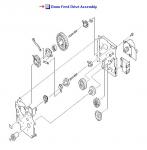 LaserJet 9000 9040 9050 M9040 M9050 Drum Feed Drive Assembly